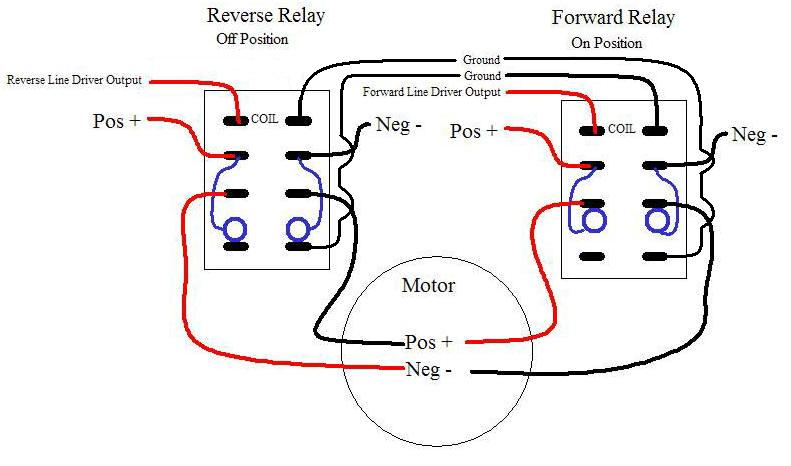forward_reverse_relays2 dpdt relay wiring diagram normally closed relay wiring diagram electric motor wiring diagram forward reverse at soozxer.org