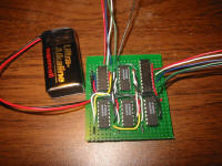 Relay Circuit Proto Board, Top Side