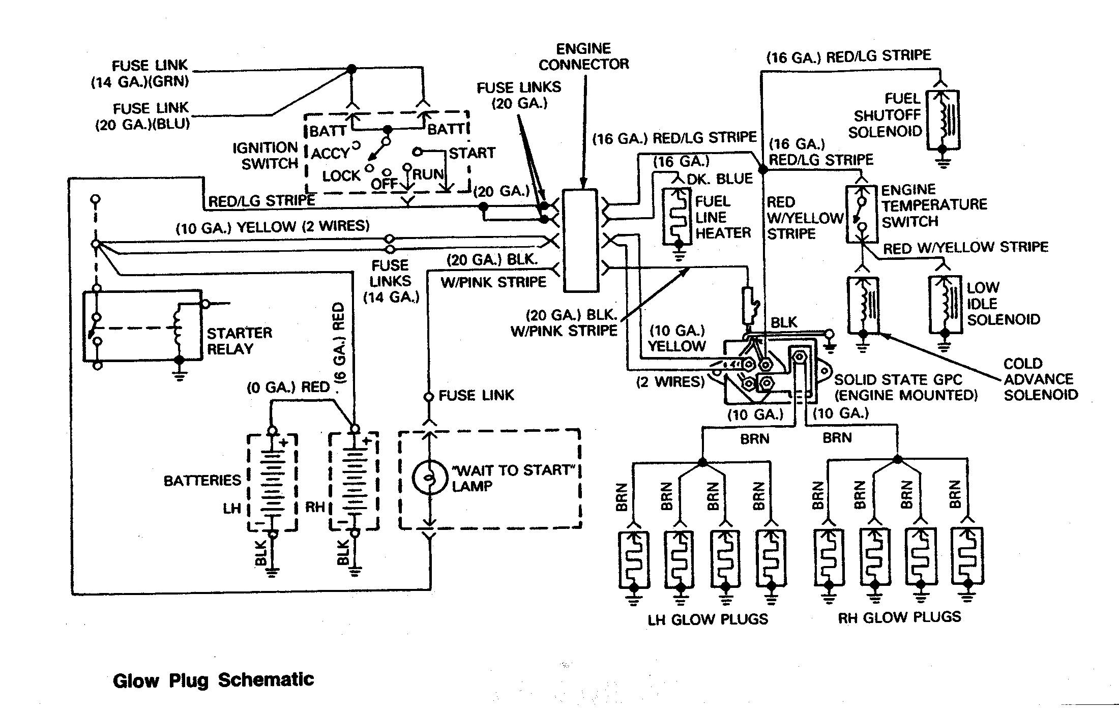 Engine Diagram 1989 Ford 73L Diesel