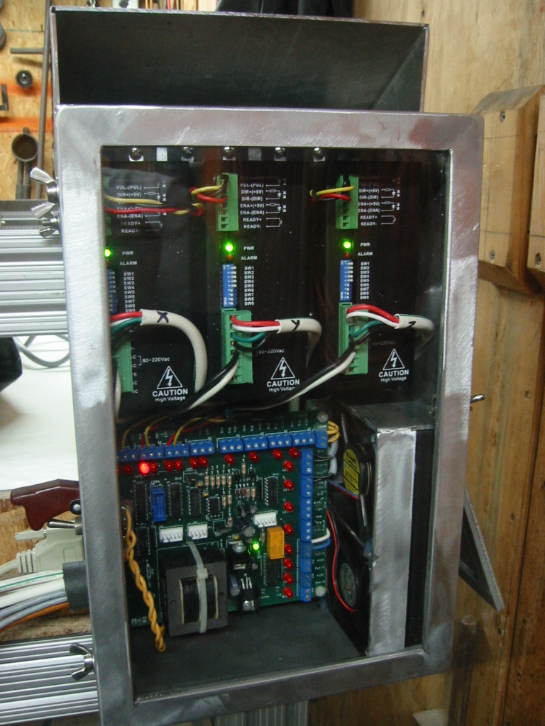 dc motors wiring diagram our cnc table  our cnc table