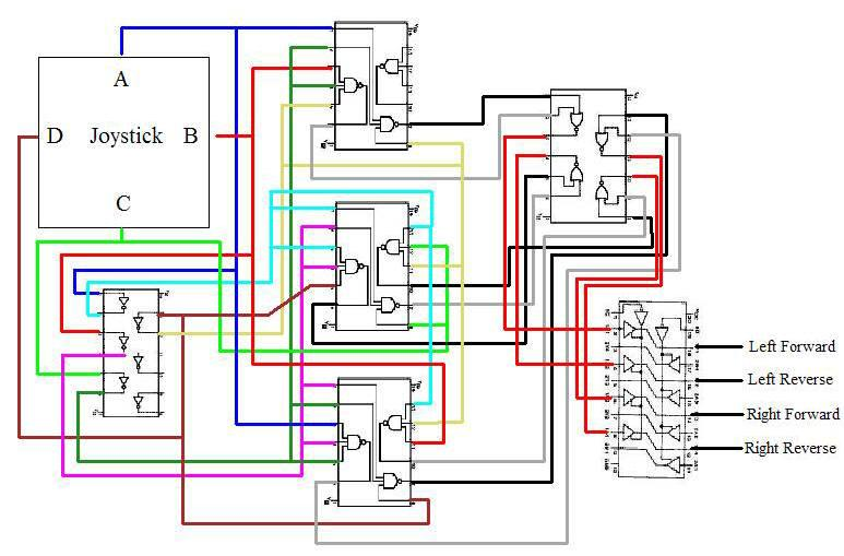 circuit wiring diagram, or how it all fits together